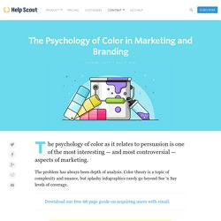 The Psychology of Color in Marketing and Branding — The Startup