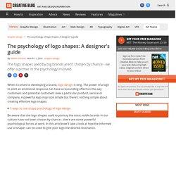 The psychology of logo shapes: a designer's guide