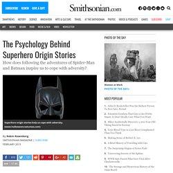 The Psychology Behind Superhero Origin Stories