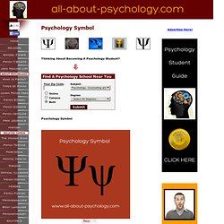 Psychology Symbol Information Guide