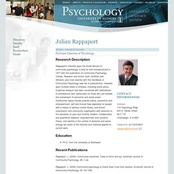 Psychology, College of LAS, University of Illinois