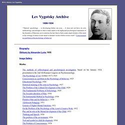 Vygotsky research
