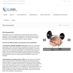 Psychometric Test For Leadership India