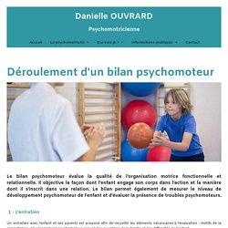 Le bilan psychomoteur : Danielle Ouvrard, psychomotricienne