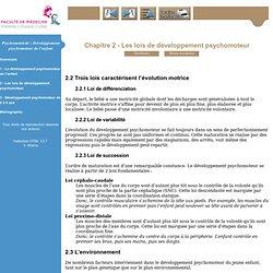 Psychomotricité: Développement psychomoteur de l'enfant - Première année