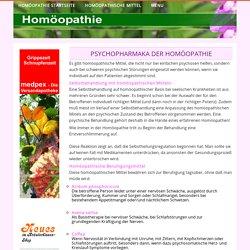Psychopharmaka der Homöopathie