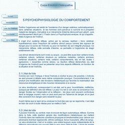 psychophysiologie du comportement