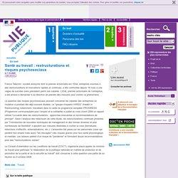 Suicides : santé au travail, France Télécom, risques psychosociaux, conditions de travail, stress. En bref - Actualités