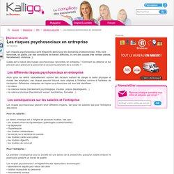 Les risques psychosociaux en entreprise - Santé et sécurité, RH