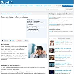 les maladies psychosomatiques