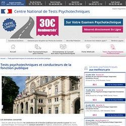 Tests psychotechniques et conducteurs de la fonction publique