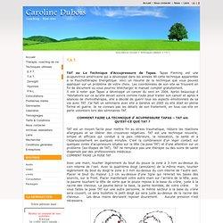 Hypnose Thérapie Coaching EFT- Psychothérapeute Bruxelles - T.A.T.