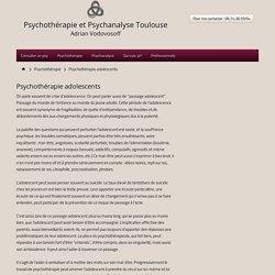 Psychothérapie pour adolescents. Aide psychologique.
