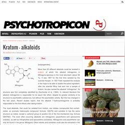 Kratom – alkaloids – Psychotropicon - Das Online-Magazin für Psychonauten