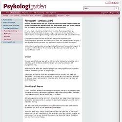 Psykopati - Antisocial personlighetsstörning