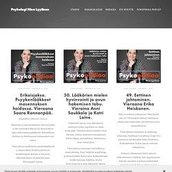 Psykopodiaa: psykologia podcast — Psykologi Nina Lyytinen