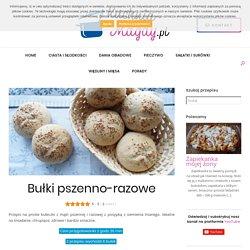 Bułki pszenno-razowe - Kuchnia Magdy