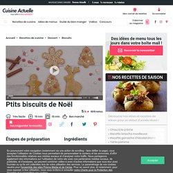 Ptits biscuits de Noël