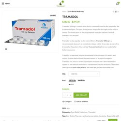 PTRAMADOL Medicine Online Without Prescription No doctor Required
