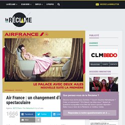Pub Air France 2014 : France is in the air