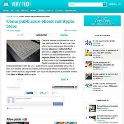 Come pubblicare eBook sull'Apple Store