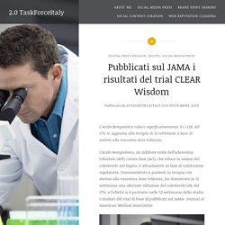 Pubblicati sul JAMA i risultati del trial CLEAR Wisdom