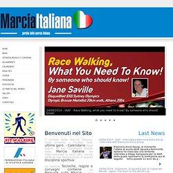 Marcia Italiana - Pubblicazioni sulla marcia, statistiche, convegni di marcia, risultati e gare della marcia, seminars in race walking, articles of race walking, video of race walking, statistics of race walking