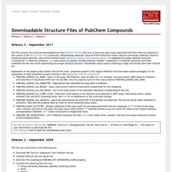 PubChem Download Page