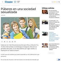 Púberes en una sociedad sexualizada
