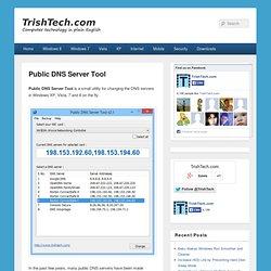 Public DNS Server Tool 2.0