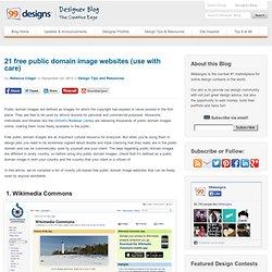 21 free public domain image websites