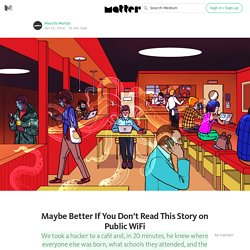 Here's Why Public Wifi is a Public Health Hazard — Matter