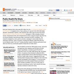 Public Health Pot Shots