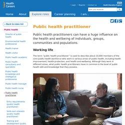 Public health practitioner