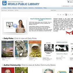 World Public Library - Public Access Section