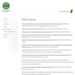 Public Reports