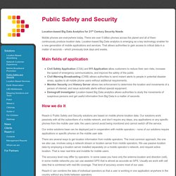 Public Safety and Security