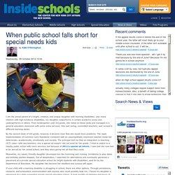 When public school falls short for special needs kids