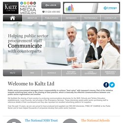 Kaltz - Public Sector Procurement