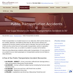 Accidents In NJ Today - Gill & Chamas