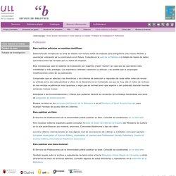 Trabajo de investigación -8- Publicación (ULL)