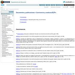 Documentos y publicaciones > Convivencia y coeducación