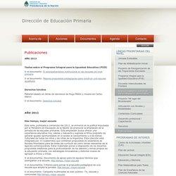 Dirección de Educación Primaria