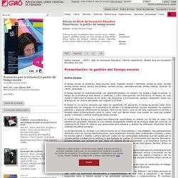 Publicaciones Editorial Graó. Libros y revistas de pedagogía.