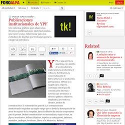 Publicaciones institucionales de YPF