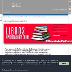 Libros y publicaciones online – Ministerio de Cultura y Patrimonio