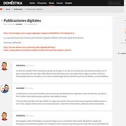 Publicaciones digitales : Hilo