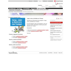 Publicaciones técnicas. Campaña de obesidad infantil