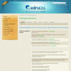 EDIPUCRS - Capa - Publicações Eletrônicas - E-books