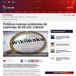 Publican nuevas evidencias de espionaje de EE.UU. a Brasil